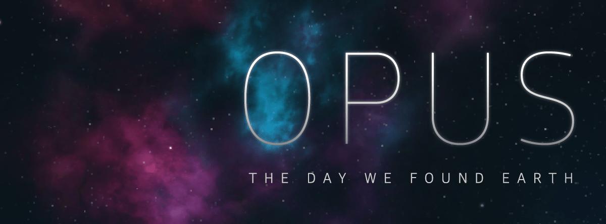 Opus: the day we found earth, en quête de nos origines