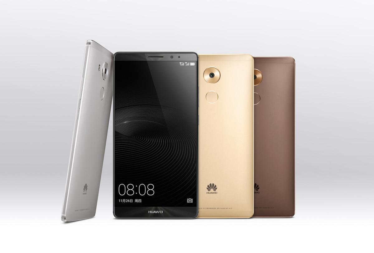 Le Huawei Mate8 est officiel : Android Marshmallow et Kirin950 au programme