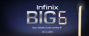 Infinix compte présenter son «Big 6» le 27 novembre