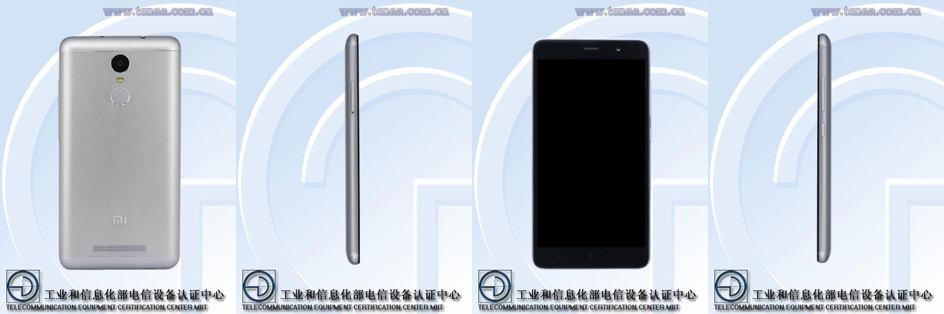 Xiaomi Redmi Note 2 Pro : des photos de la TENAA confirment le lecteur d'empreintes
