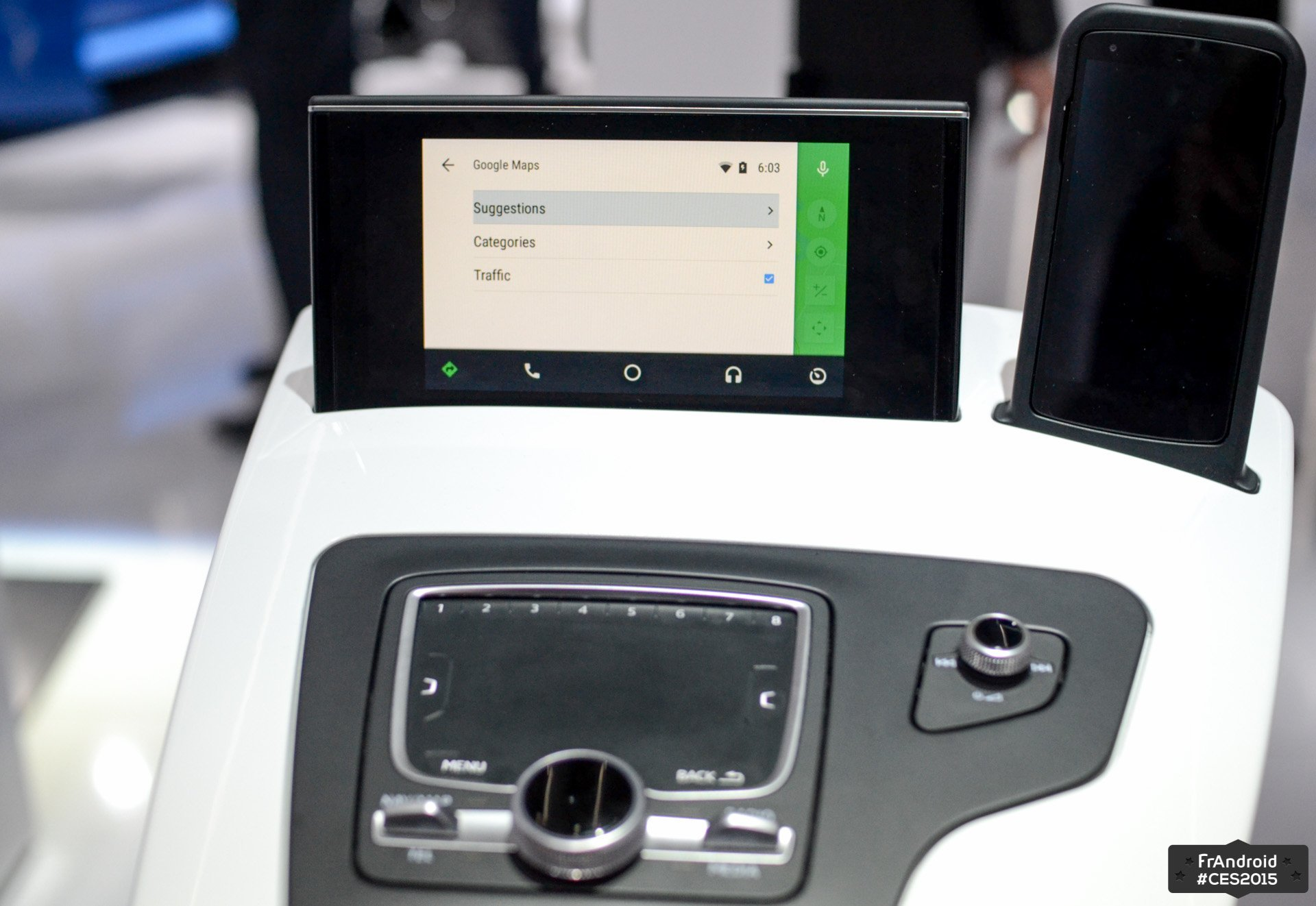 Android Auto 1.5 permettra de retrouver plus facilement sa voiture