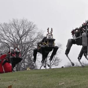 Boston Dynamics crée un traineau robotisé pour Noël, flippant