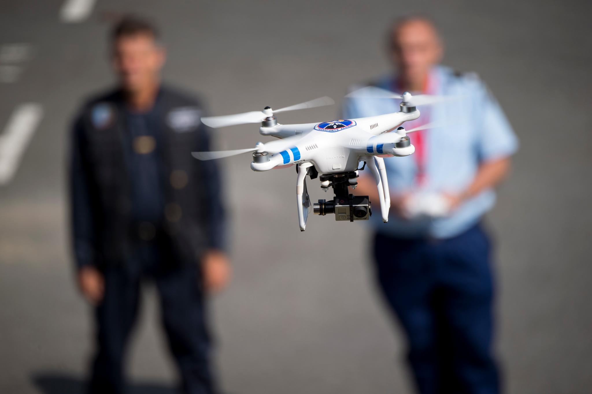 En France, des drones pour lutter contre l'insécurité routière