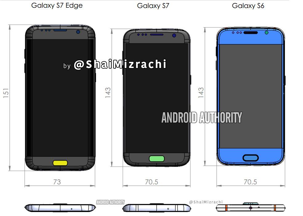 Samsung Galaxy S7 : de nouveaux détails sur son design en attendant sa présentation