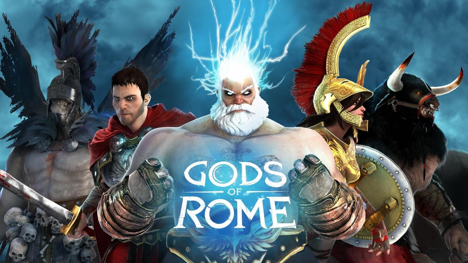 Gods of Rome, le nouveau jeu de combat de Gameloft est disponible
