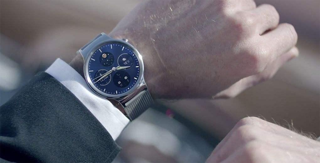 Android Wear 2.0 est disponible sur la première Huawei Watch