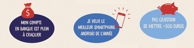 Infographie : Trouvez votre smartphone idéal !