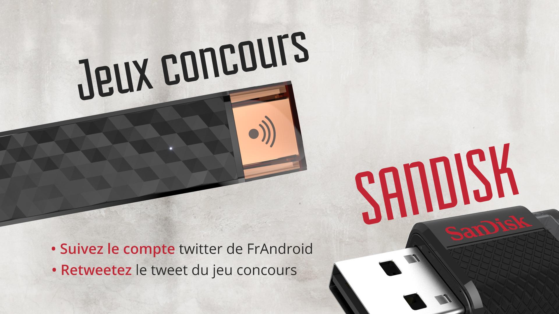 Jeu-concours : Gagnez des accessoires SanDisk pour ne plus avoir de problèmes de stockage