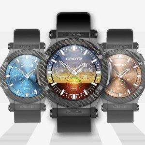 Omate Rise : la montre 3G sous Android compte sur Indiegogo pour se faire connaître