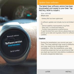 La Samsung Gear S2 améliore son autonomie grâce à une nouvelle mise à jour