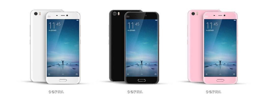 Xiaomi Mi 5 : les slides étaient donc faux