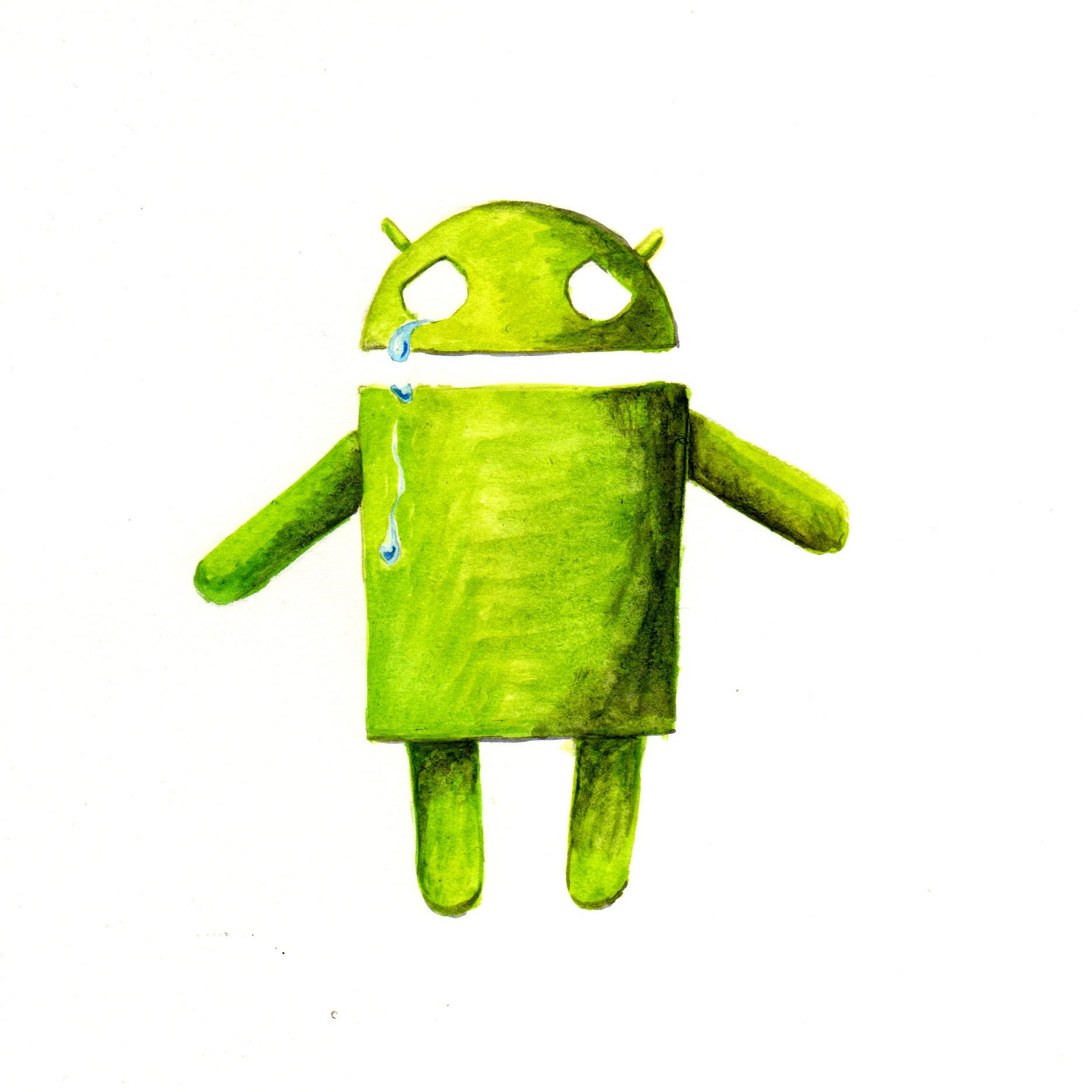Tout ne va pas bien pour Android