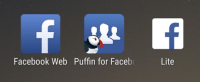 3 alternatives à l'application Facebook : Lite, web et Puffin