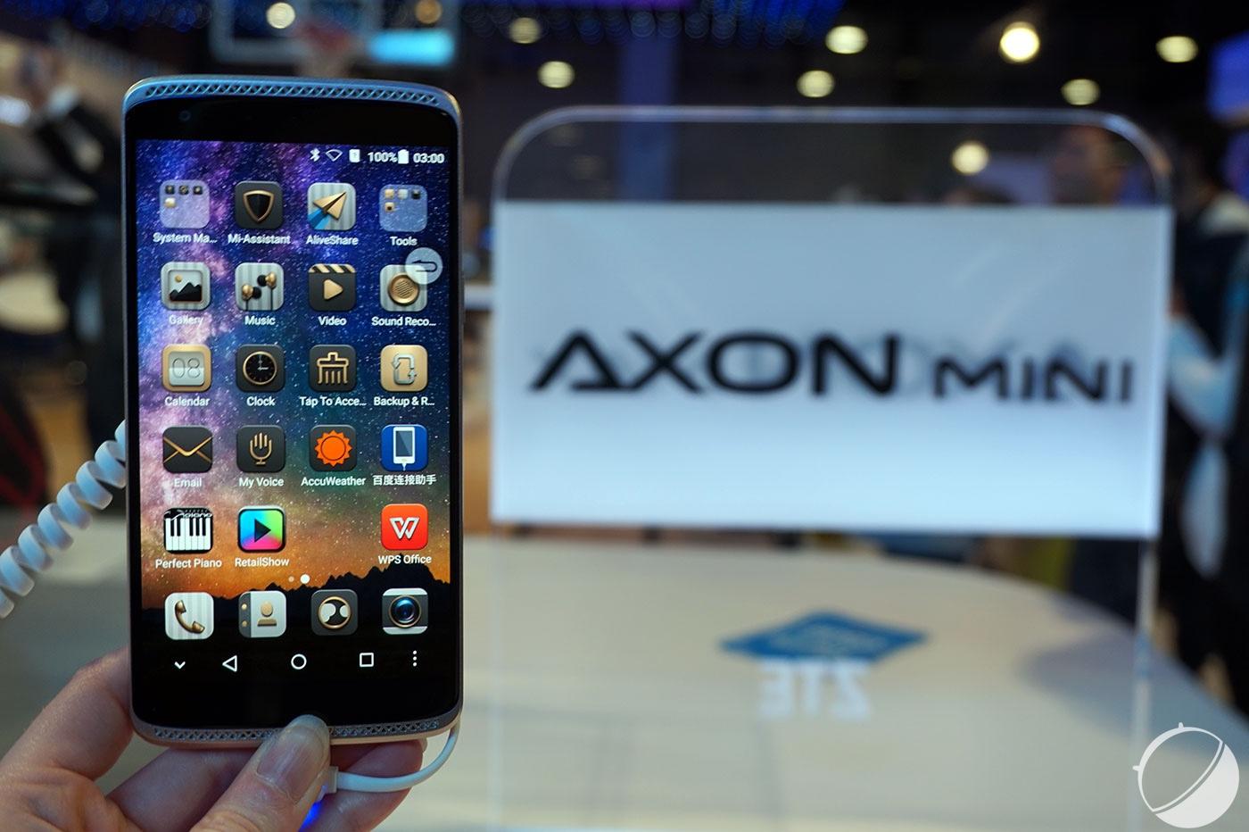 Six mois après sa sortie officielle, le ZTE Axon Mini est vraiment disponible en France