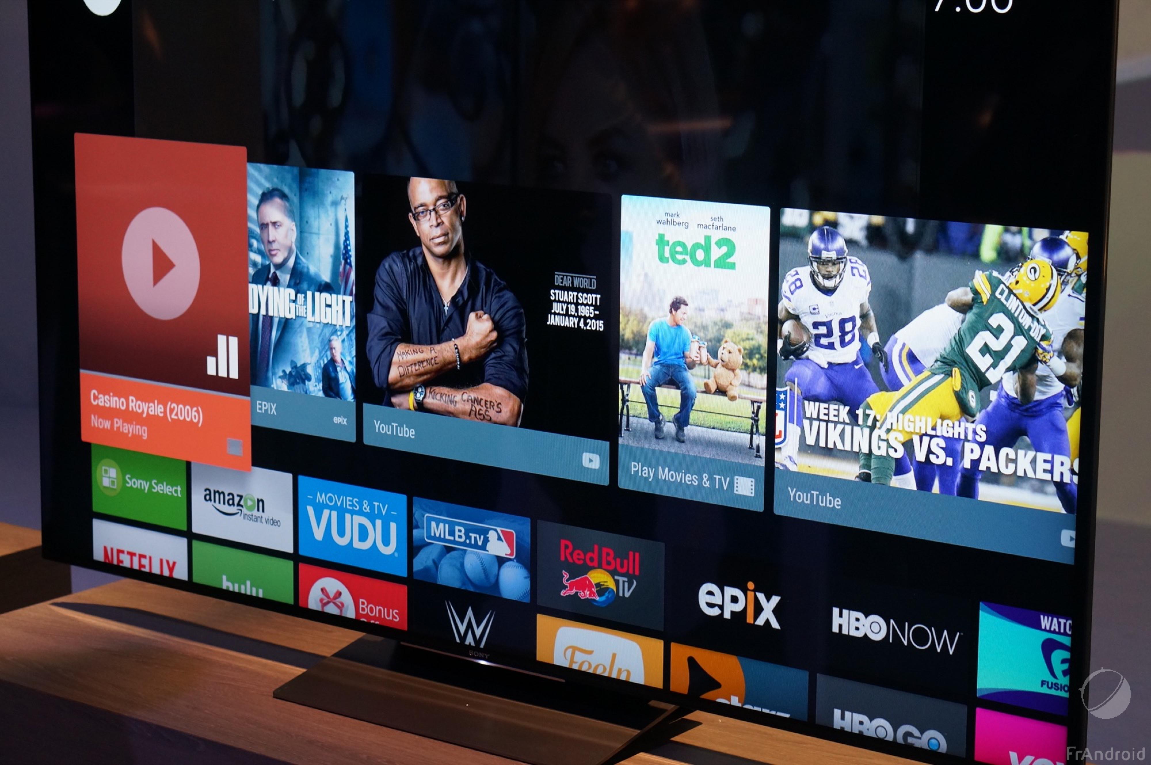 Sony Bravia 4K HDR, les nouvelles fonctions d'Android TV en détails