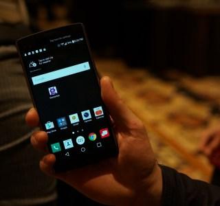 Prise en main du LG V10, celui que l'on ne verra jamais