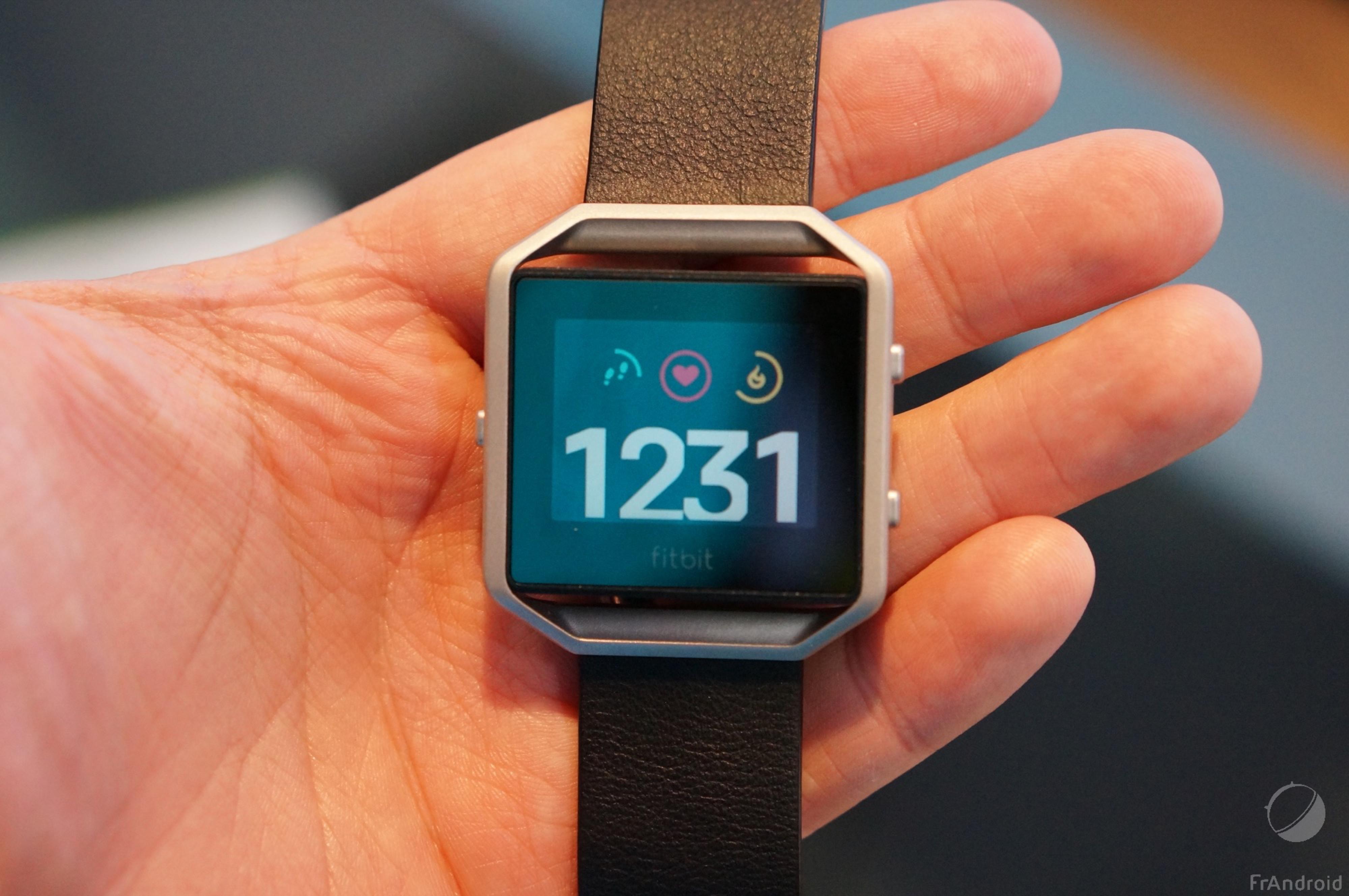Prise en main de la Fitbit Blaze, en manque flagrant d'innovation