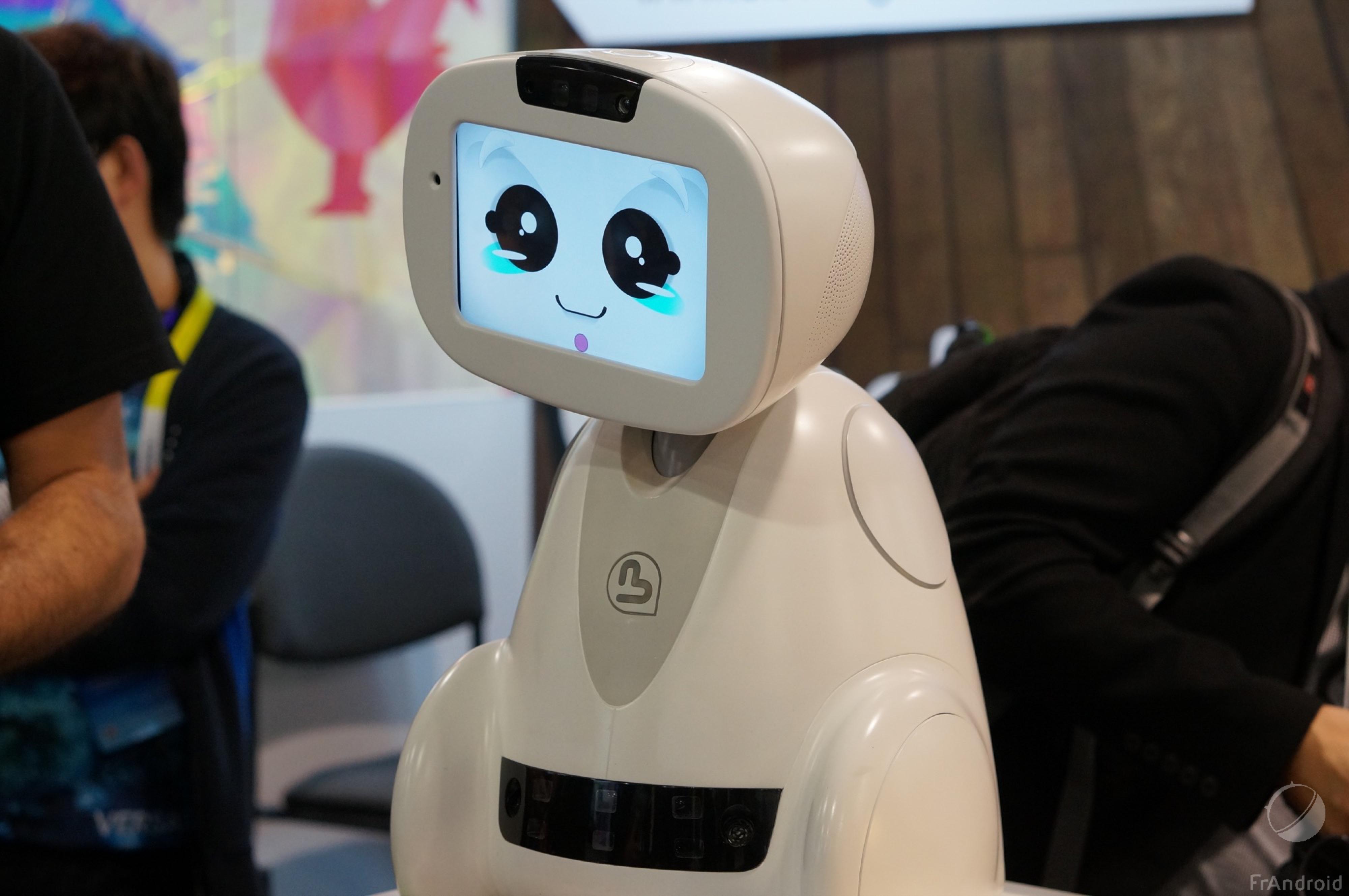 Buddy, le robot à tout faire sous Android