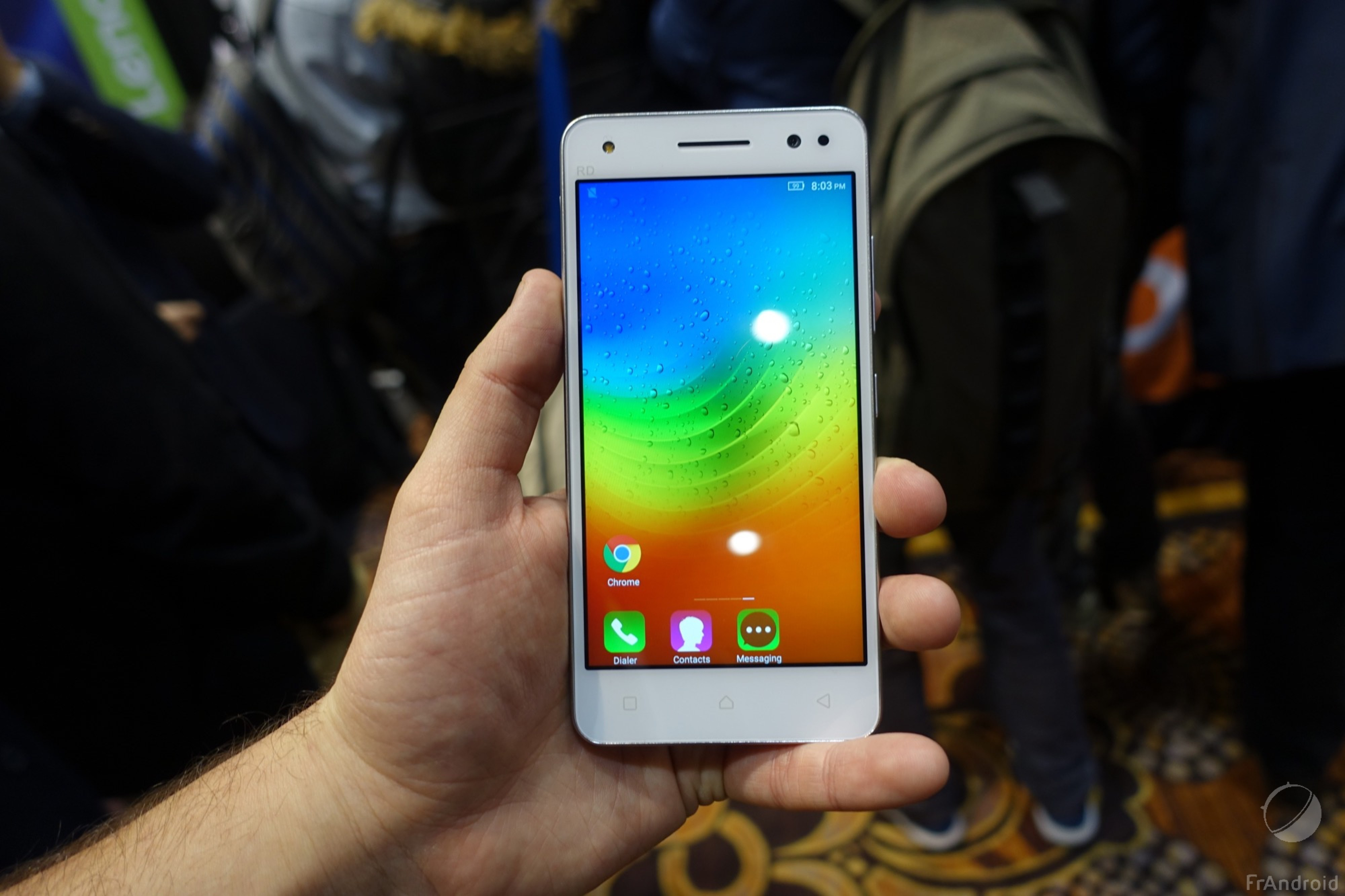 Vidéo : Lenovo Vibe S1 Lite, petit aperçu de ce smartphone Android