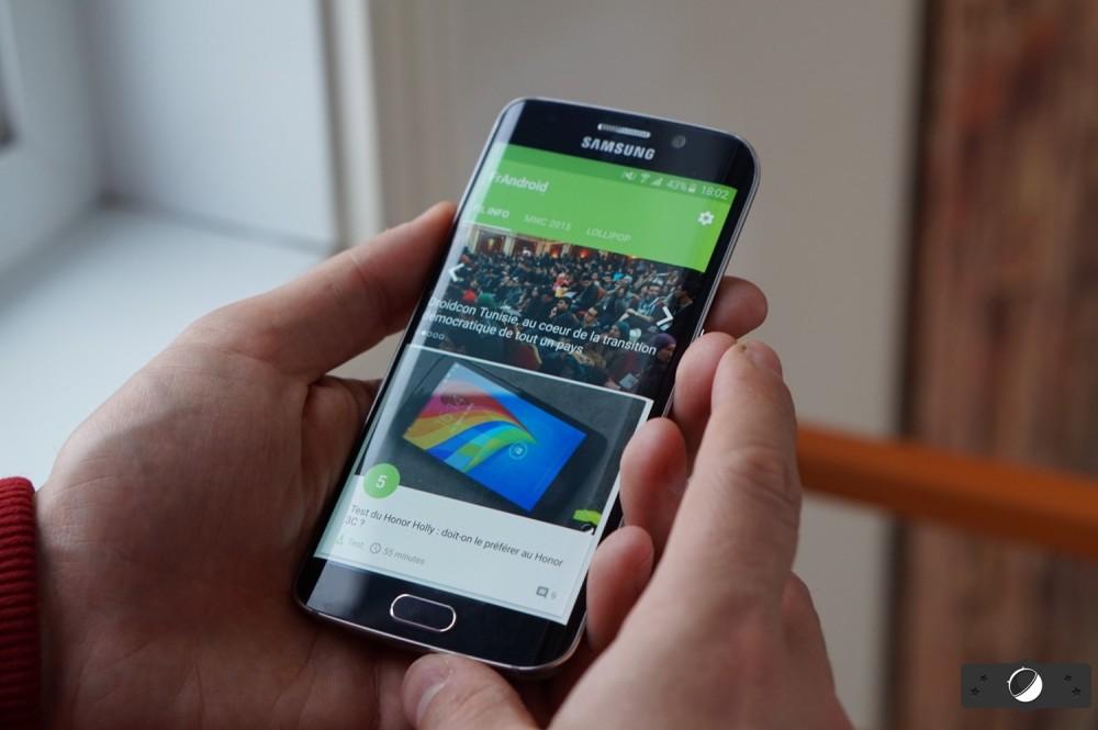 Le Samsung Galaxy S6 Edge passe la certification Wi-Fi avec Android 7.0 Nougat