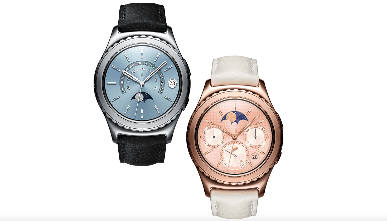 CES 2016 : deux nouveaux modèles de «luxe» pour la Samsung Gear S2 Classic