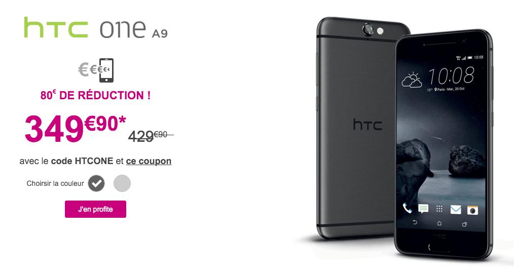 Bon plan : le HTC One A9 baisse de prix à 349,90 euros