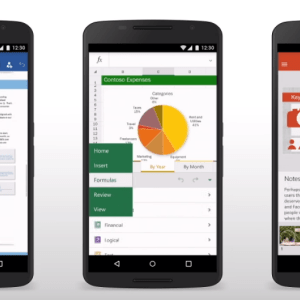 Word, Excel et PowerPoint : Microsoft met à jour ses apps Android