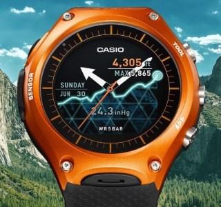 CES 2016 : Casio choisit l'option Android Wear pour sa première vraie smartwatch