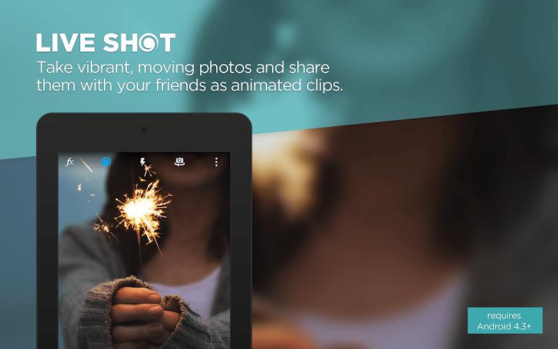 Les «Live Photos» de iOS sur Android, grâce à Camera MX