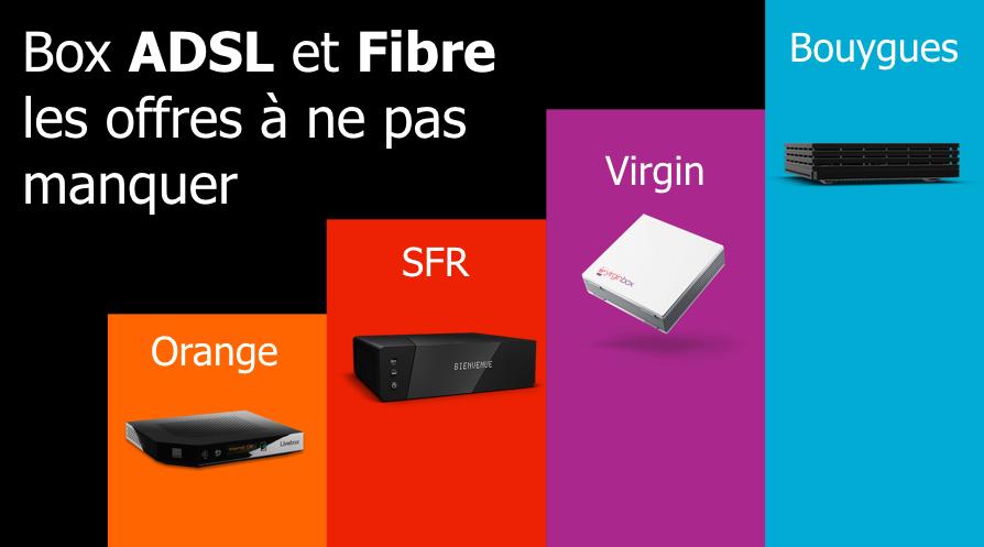 4 bonsplans ADSL et fibre à moins de 20 euros