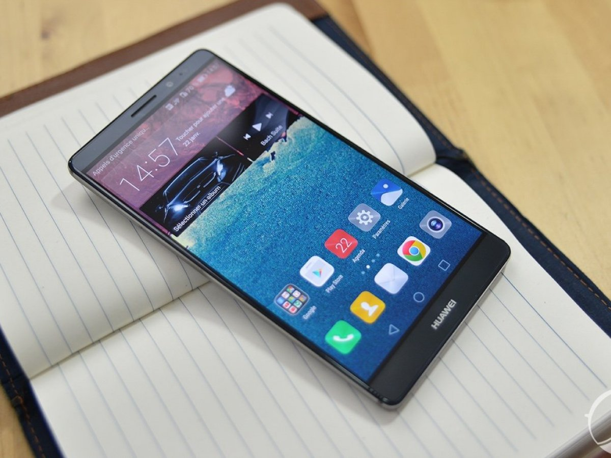Test du Huawei Mate 8, la surprise