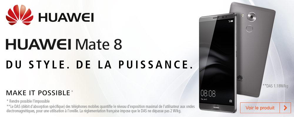 Le Huawei Mate 8 est disponible… en exclusivité chez Boulanger