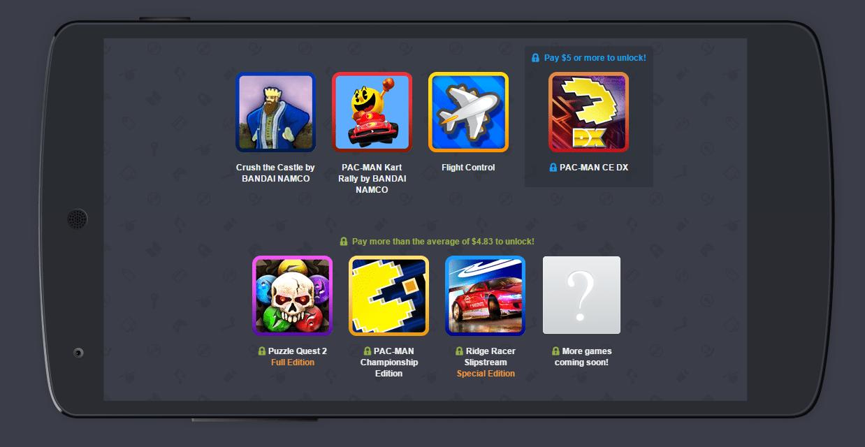 Humble Bundle est de retour avec un pack mobile dédié à Bandai Namco