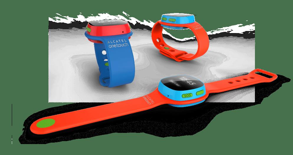 CES 2016 : Alcatel OneTouch CareTime, une montre connectée pour enfants