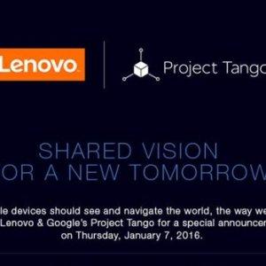 CES 2016 : un Tango Phone signé Lenovo et présenté le 7 janvier ?