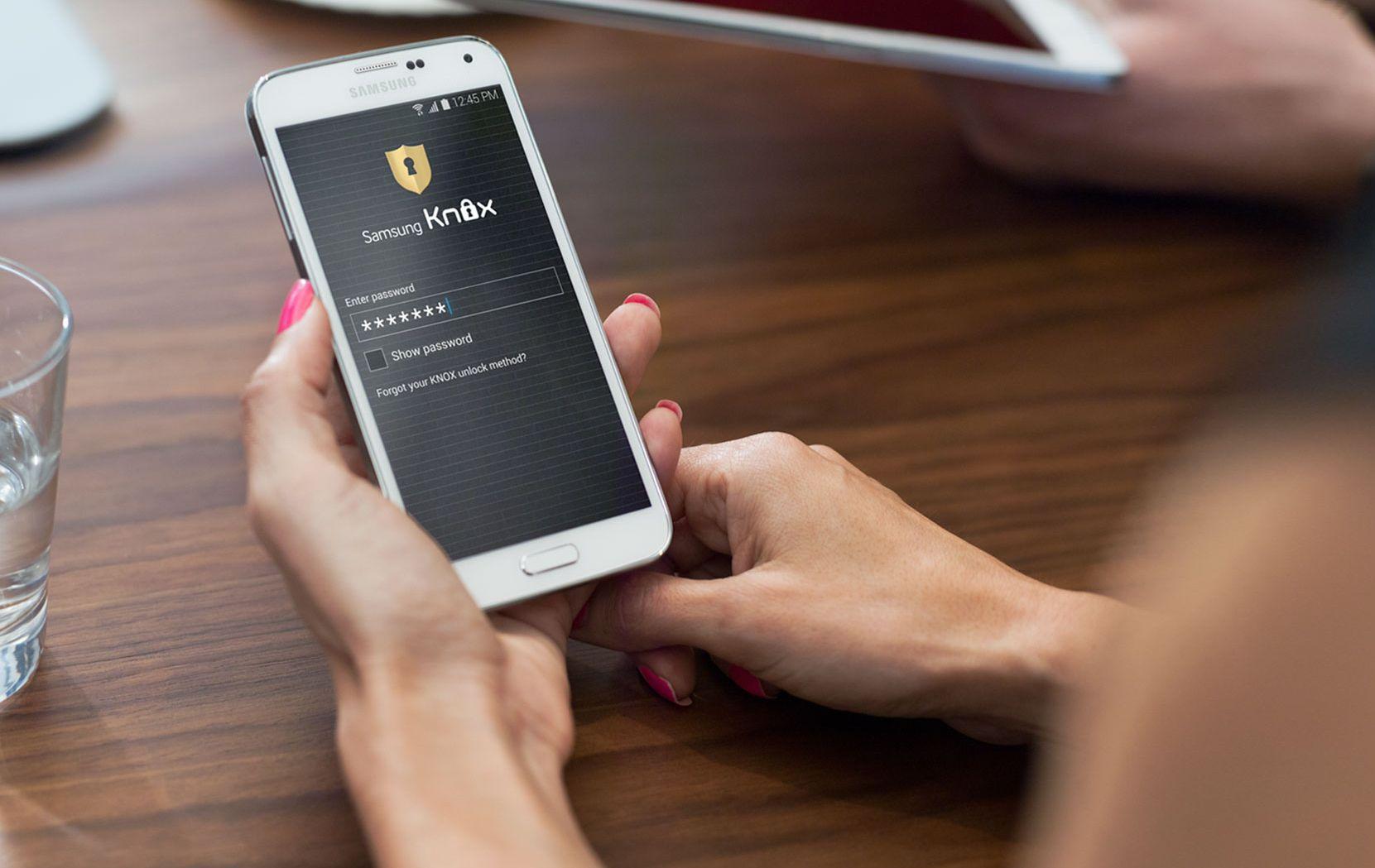 Samsung Knox Workspace certifié par l'autorité française Anssi