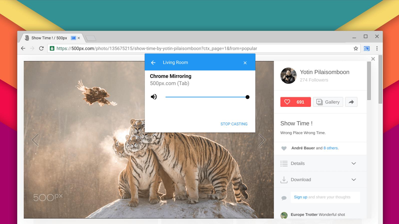 Chrome n'aura bientôt plus besoin d'une extension pour caster du contenu