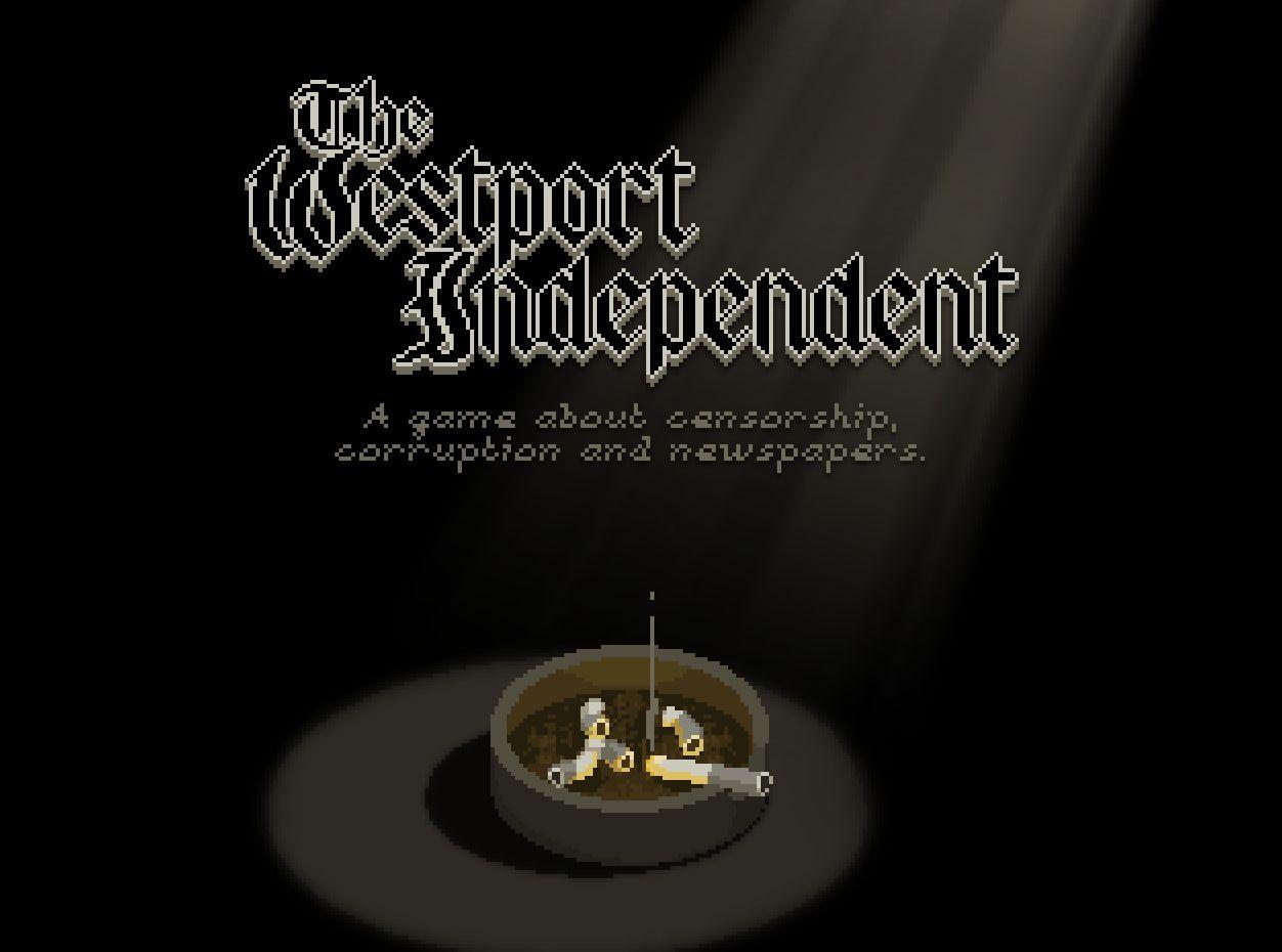 The Westport Independent est une glaçante simulation de censure de journaux