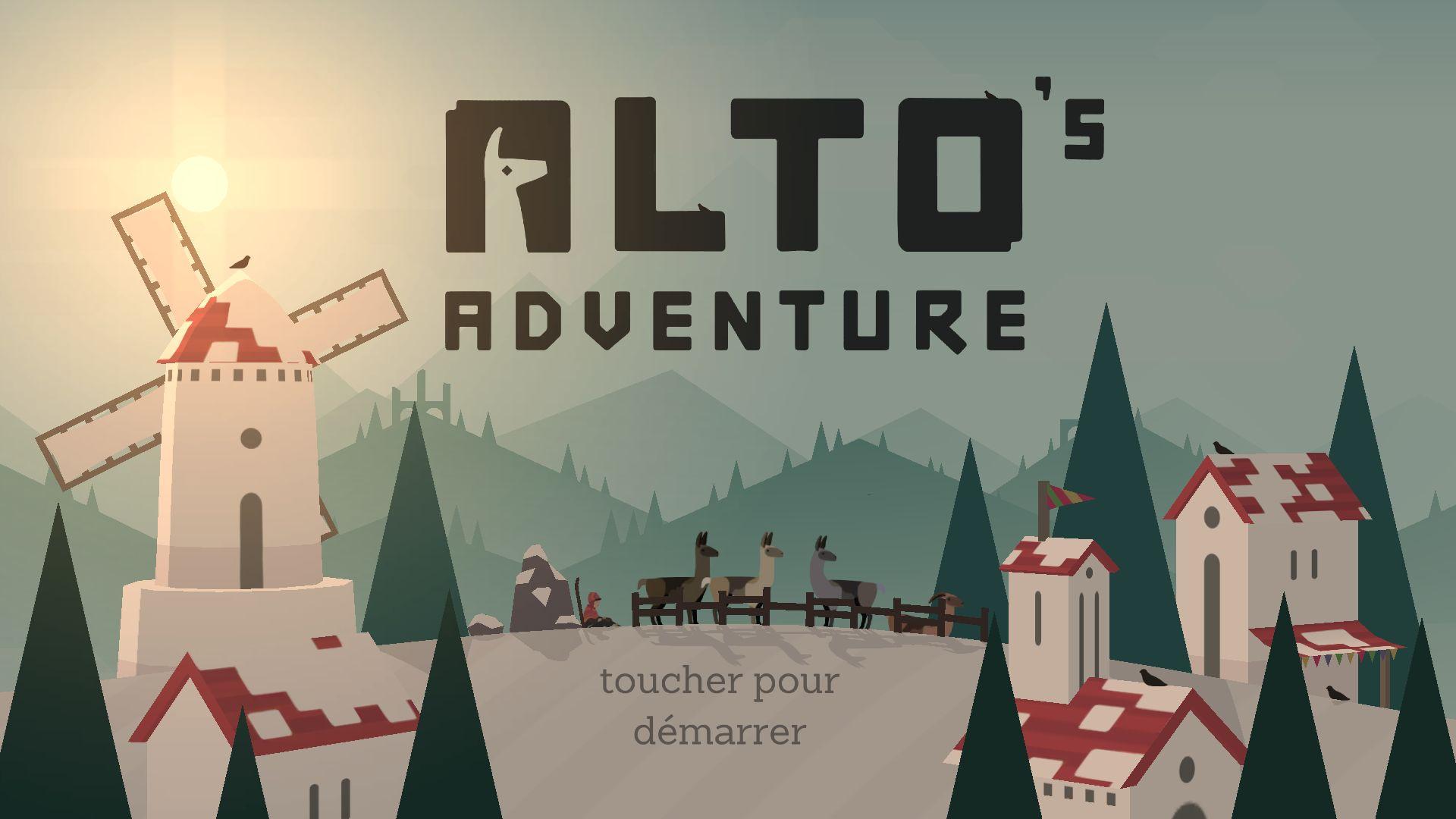 Alto's Adventure est sans conteste l'un des meilleurs runners Android du moment