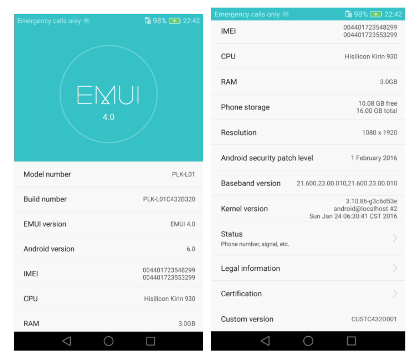 Tuto : Comment installer manuellement Marshmallow sur le Honor 7 ?