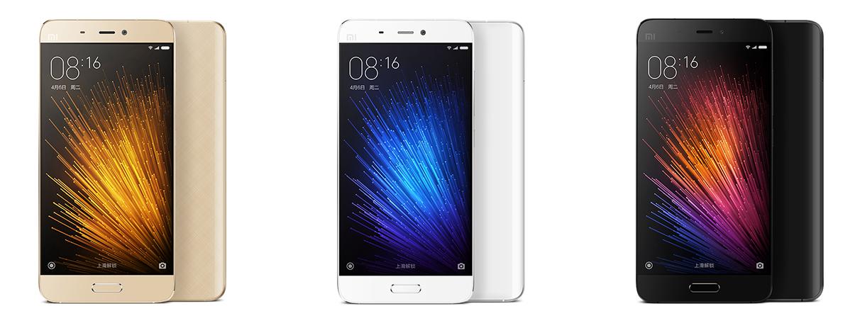 Xiaomi Mi 5, le rival assumé des Samsung Galaxy S7 et LG G5