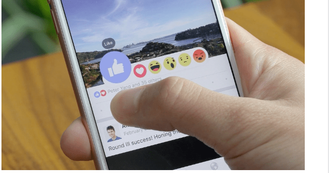 Réactions : chez Facebook, on n'aime plus, on adore