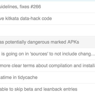 Open GApps : les APK pour toutes les densités d'écran et tous les appareils
