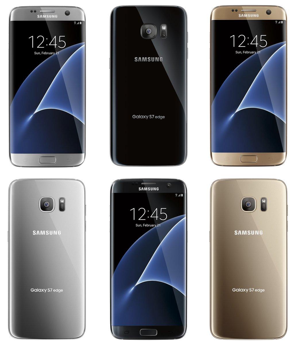 Samsung Galaxy S7 et S7 Edge : encore des images, plus de doute possible