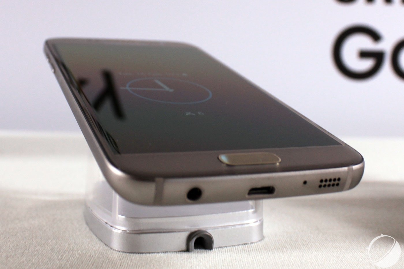 Prise en main du Samsung Galaxy S7 edge, tout d'un grand ?