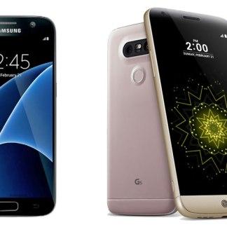 Samsung Galaxy S7 vs LG G5, lequel choisir ?