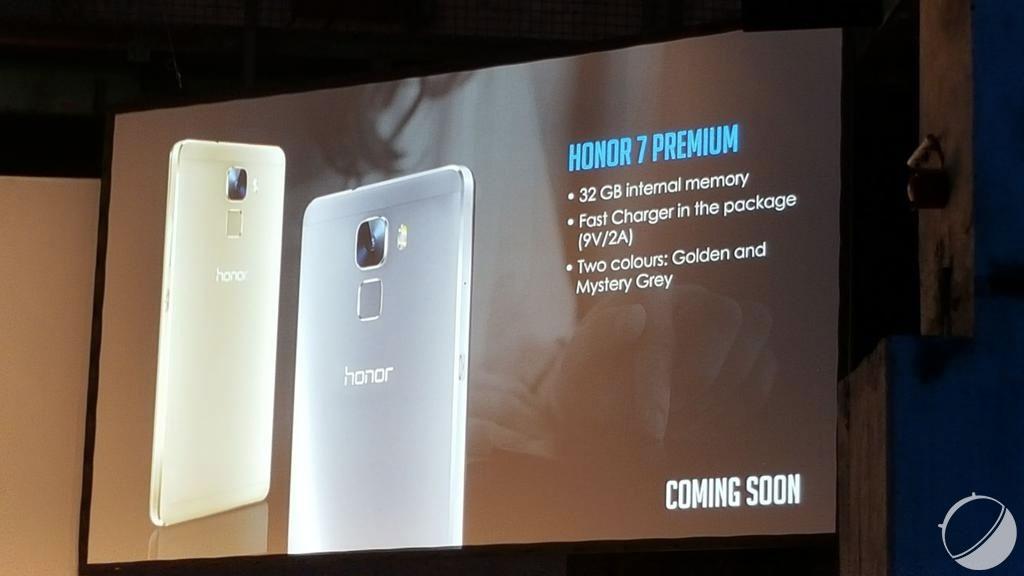 Surprise, un Honor 7 Premium arrive bientôt