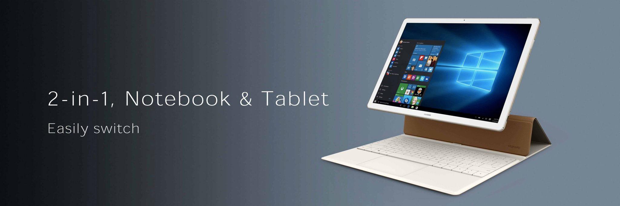 MWC 2016 : Huawei MateBook, avec ses faux airs de Surface
