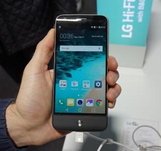 Prise en main du LG G5, l'intrigant du MWC