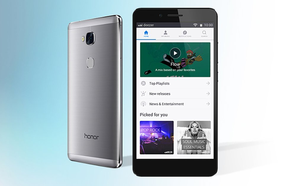 Honor va intégrer Deezer dans ses smartphones, un triplé gagnant